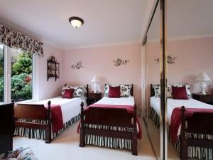 Hermoso y elegante dormitorio