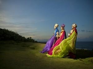 Postal: Los tres Reyes Magos