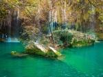 Impresionante cascada en Turquía