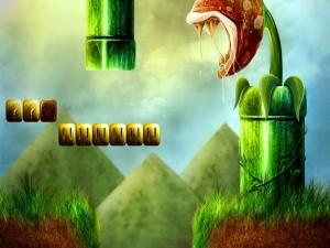 Imagen fan art del videojuego Super Mario