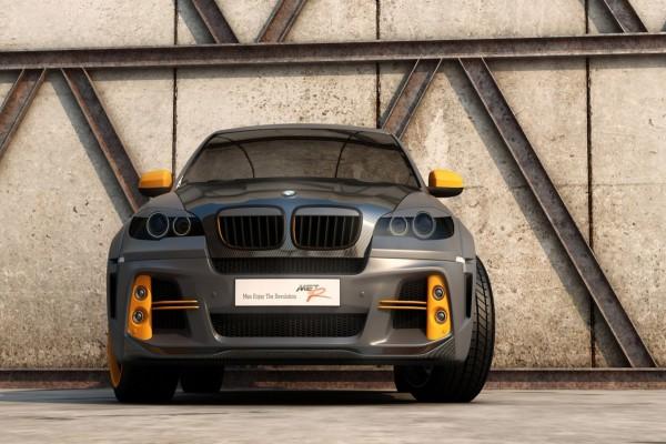 Un BMW X6 Met-R