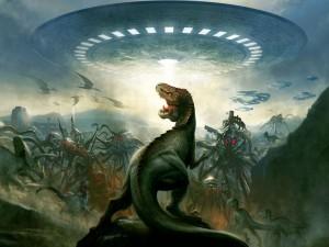 Dinosaurios vs aliens