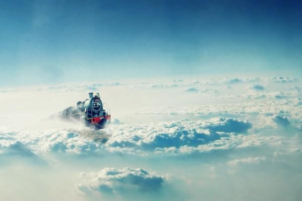 Tren en las nubes