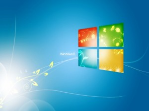 Postal: La ventana de Windows 8