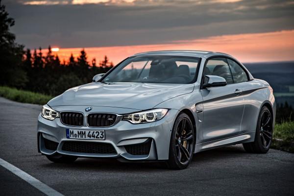 BMW gris convertible