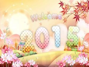 Postal: Bienvenido 2015