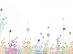 Imagen artística de plantas digitales