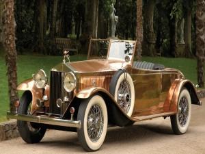 Un Rolls Royce bellamente restaurado