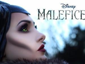 """Angelina Jolie en la película """"Maléfica"""""""