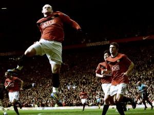 Postal: Wayne Rooney, jugador del Manchester United