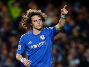 Postal: David Luiz, jugador del Chelsea