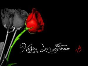 Nada dura para siempre