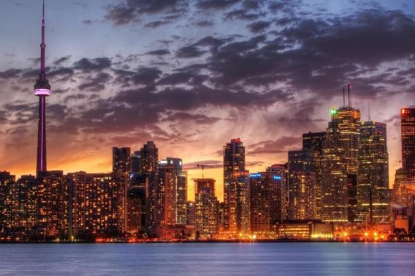 Maravilloso paisaje urbano de Toronto
