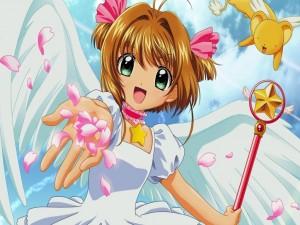Postal: La pequeña Sakura