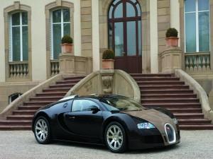 Postal: Un elegante Veyron