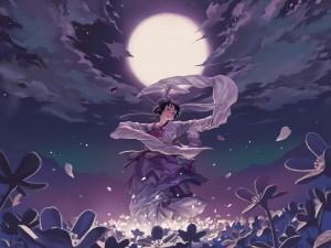 Danza bajo la luna llena