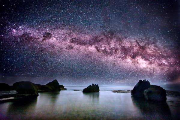 Vía Láctea vista en Australia