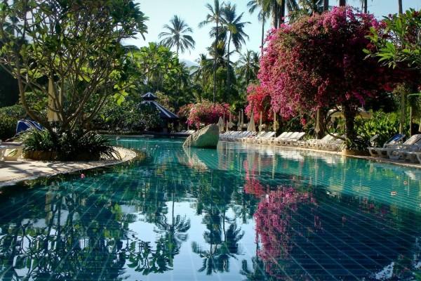 Increíble piscina