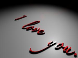 ¡Te amo!