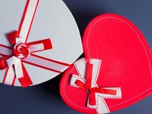 Postal: Corazones para el Día de San Valentín