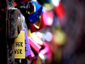 Postal: Los candados del amor