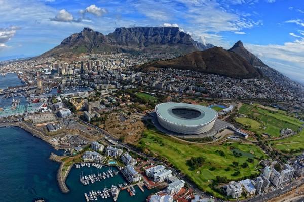 Hermosas vistas de Ciudad del Cabo (Sudáfrica)