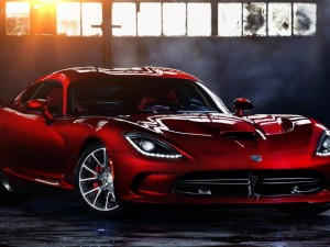 Dodge Viper SRT 2014 rojo