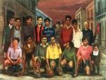 Campeones del barrio (Antonio Berni)