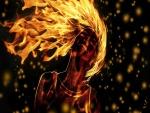 Pelo en llamas