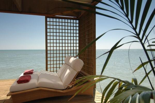 Un lugar relajante cerca del océano