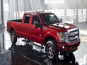 Una reluciente Ford Super Duty