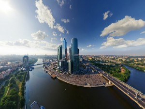 Postal: Centro Internacional de Negocios de Moscú
