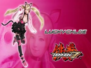 Lucky Chloe, personaje de Tekken 7