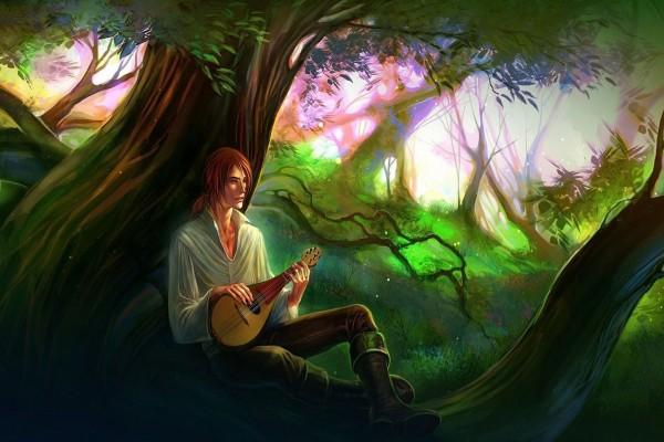 Cantando bajo el árbol