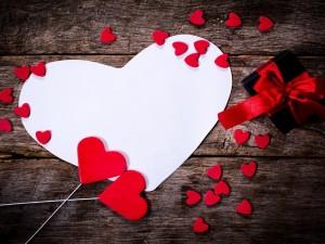 Expresión de amor por San Valentín