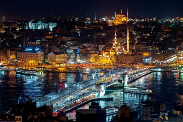 Noche en Estambul