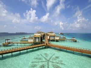 Postal: Vacaciones en el mar
