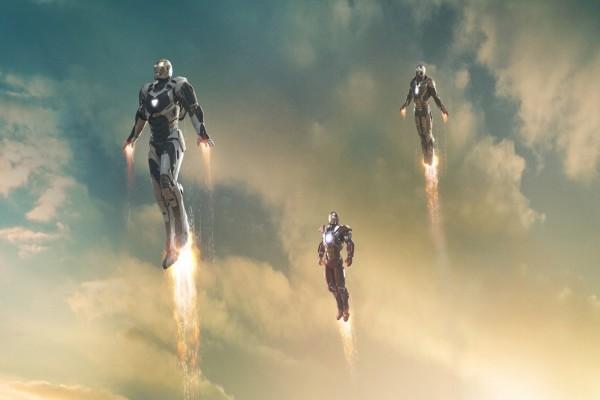 Tres Iron Man en el cielo (Iron Man 3)