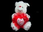 Tierno osito para regalar el Día de San Valentín