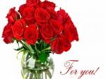 Rosas rojas ¡Para ti!