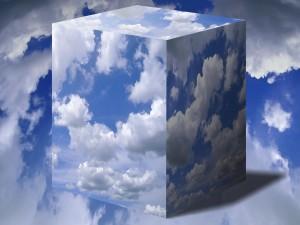Nubes en un cubo