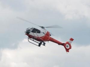 Postal: Eurocopter EC120 Colibri en pleno vuelo