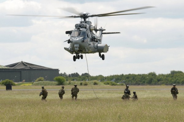 Eurocopter EC725 Caracal y fuerzas especiales