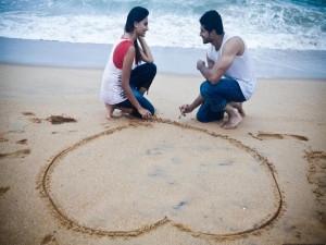 Romántica historia de amor