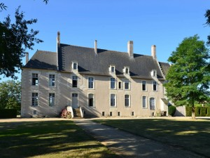 Postal: Castillo de Bois de Sanzay