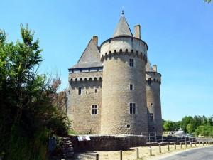 Postal: Torre del castillo de Suscinio (Francia)