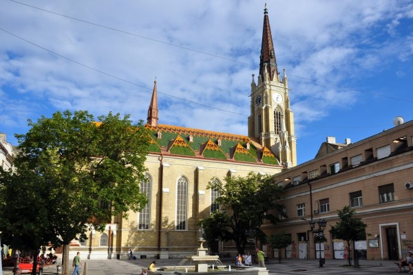 Catedral en Novi Sad (Serbia)