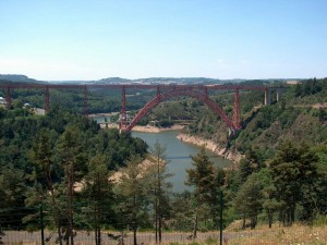 Postal: Viaducto de Garabit (Francia)