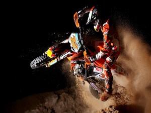 Postal: Competición de motocross
