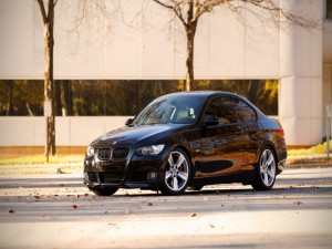Postal: Un nuevo BMW